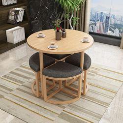 원형 카페 테이블 & 의자