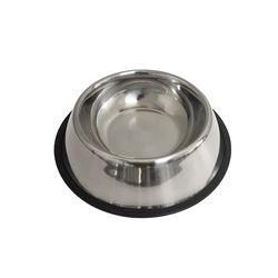반려동물 스테인레스 위생 밥그릇 물그릇 M (SRW003)
