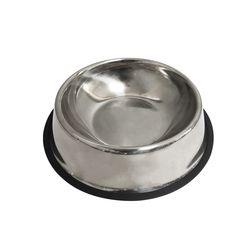 반려동물 스테인레스 위생 밥그릇 물그릇 L (SRW004)