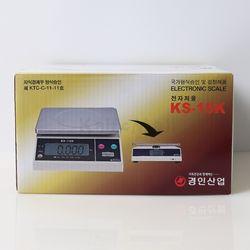 경인 단순중량 전자저울 KS-15K(15kg5g)듀얼 LCD창