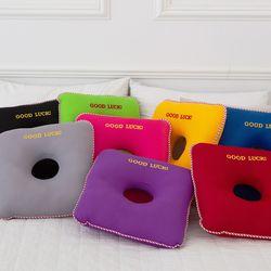 사각 에어메쉬 8색 도너츠 쿨 방석 + 전용세탁망
