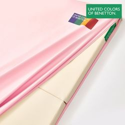 베네통 아기매트 커버 유아 층간소음 핑크 140x250