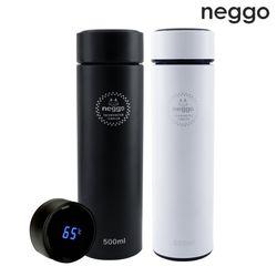 [무료배송] NEGGO 스마트 텀블러 보온 보냉 온도표시 500ml