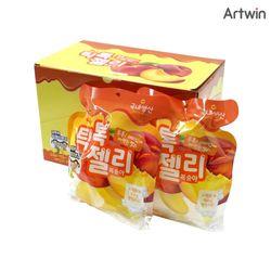 3000 틱톡 젤리 복숭아 160g BOX(8)