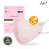 아에르 어드밴스드 라이트핏 KF80 마스크 핑크 10매