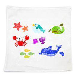 바다친구들-손수건(3인세트)