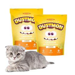 고양이 모래 카사바 x 2개 3.17kg