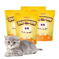 고양이 모래 카사바 x 4개 3.17kg