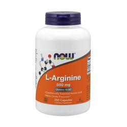 Now Foods L 아르기닌 Arginine 500mg 250캡슐