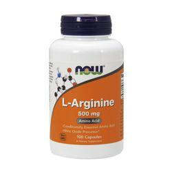 Now Foods L 아르기닌 Arginine 500mg 100캡슐