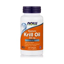 Now Foods Neptune 크릴오일 Krill Oil 500mg 60정