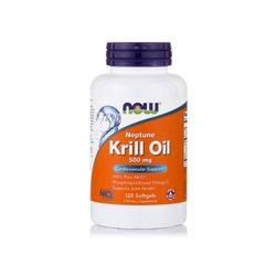 Now Foods Neptune 크릴오일 Krill Oil 500mg 120정