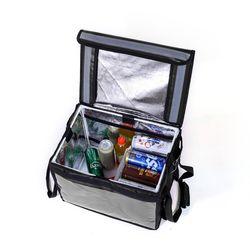 프레쉬 보온보냉 배달가방(48L) (블랙)