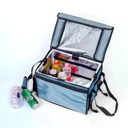 프레쉬 보온보냉 배달가방(32L) (블루)