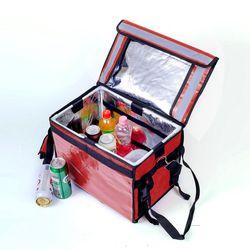 프레쉬 보온보냉 배달가방(32L) (레드)