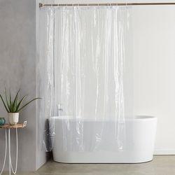 클린바쓰 투명 샤워커튼(180x180cm)