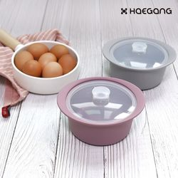 국산 실리콘 계란 찜기 전자레인지 용기 이유식 미니
