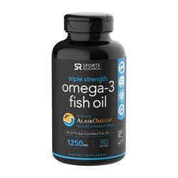 Sports Research 오메가3 피쉬오일 1250mg 90정