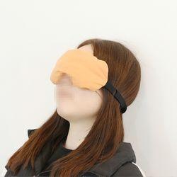 팥 눈 찜질팩 안대 천연황토염색 온열 수면안대