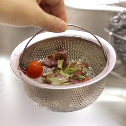 주방용품 스텐 씽크거름망 볼형