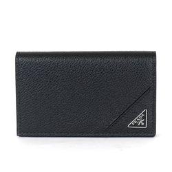 2MC122 사피아노 트라이앵글 명함카드지갑 블랙