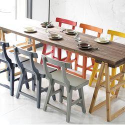 레인트리 원목 컬러 스툴 의자 (10colors)