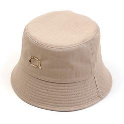 GD Bubble Beige Drop Bucket Hat 버킷햇