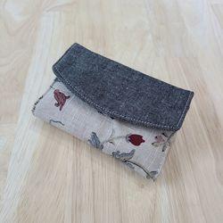 카드지갑만들기 뚜껑카드지갑 명함지갑 카오스
