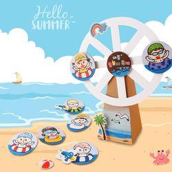 물놀이축제만들기(4개)여름만들기종이공작미술수업