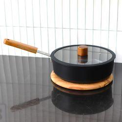 주방 조리도구 인덕션 멀티팟 냄비 24cm