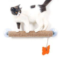 흡착식 사이잘폴 고양이용품 수직스크래쳐