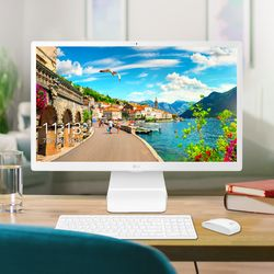 LG일체형PC 22인치 22V280-L710K SSD 256GB 업글