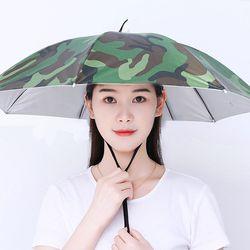 우산모자 햇빛가리개 모자 우산 낚시 농사 양산 썬캡