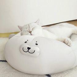 시원한 물개방석 고양이 강아지 쿨방석 쿨링방석