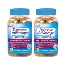 Schiff 쉬프 digestive advantage probiotic 120구미 2개