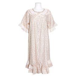 [쿠비카]토숀 레이스 리본 원피스 여성잠옷 W769