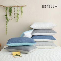 에스텔라 썸머드림 리플 40x6050x70 여름용 베개커버 7colors