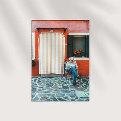 Alleys 포스터-잇(스티커형 포스터)  A2사이즈