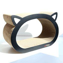 로마펫 고양이 장난감 숨숨집 수직 라운드 켓페이스 스크래쳐