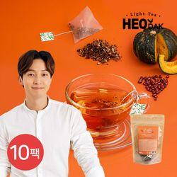 [무료배송] [허닭] 라이트티 호박팥차 10팩(1.5gX20개입)