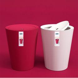 라이프공방 빌트인 휴지통 밀폐 화장실 욕실 쓰레기통