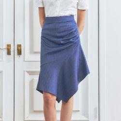 [BREEZE] Flare SkirtBLUE (CTD2)