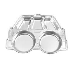 해모 포스코생산 스텐 미니자동차 식판 접시 유아식판 아동용