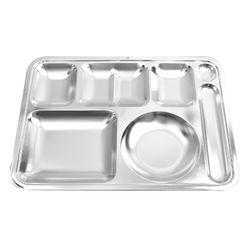해모 포스코생산 스텐 수저 4찬 식판 0.4T 접시