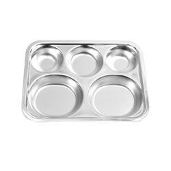 해모 포스코생산 스텐 튼튼 아동용 소형 유아식판 접시 아동용