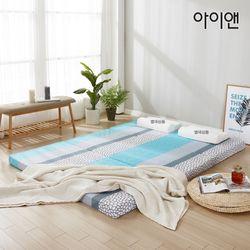 [아이앤]벨리노 3단 접이식 7존 메모리폼 퀸 토퍼 OT