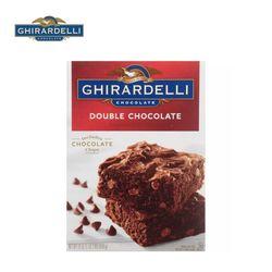 기라델리 더블 초코릿 브라우니 케익 믹스