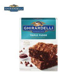기라델리 초콜릿 브라우니 케익 믹스 트러플 퍼지