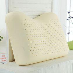 땅콩형+겉커버 천연 라텍스베개 어깨를 편안하게 받쳐주는 타입