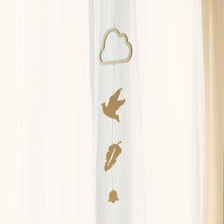 인테리어 우드모빌 앤 월행잉 하늘새